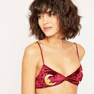 Urban Outfitters Moon & Stars Applique Bralette